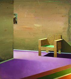 """Matthias Weischer """"Chair"""" 2003"""