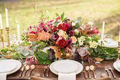 Fall Wedding Theme: Leaves