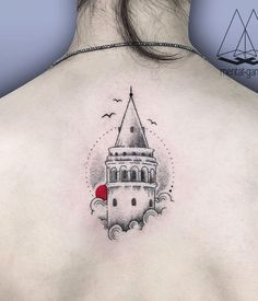 Galata Tower Tattoo