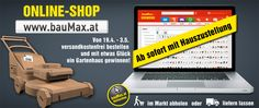 Hauszustellung bei bauMax Shops, Obi, Desktop Screenshot, Garden Cottage, Tents, Retail, Retail Stores