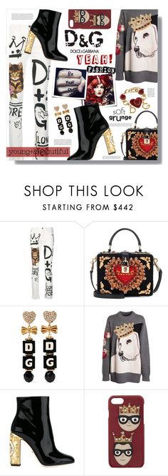"""D&G Yeah!"" by eilselrenrag ❤ liked on Polyvore featuring Dolce&Gabbana and dolceandgabbana"