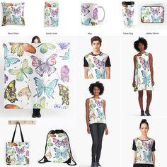 My patterns in textile design