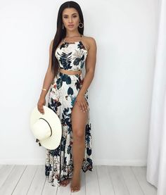 Pin by Bree Anna on Spring/Summer Fashion Trends in 2019 Cute Summer Outfits, Spring Outfits, Trendy Outfits, Summer Dresses, Summer Fashion Trends, Spring Summer Fashion, Fashion Ideas, Schneider, Mode Outfits