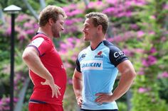 Michael Hooper May Want To Slip James slipper The Tongue! Get A Room, Guys! Michael Hooper, My Way, Rugby, Cowboys, Football, Beautiful, Guys, Men, Journal