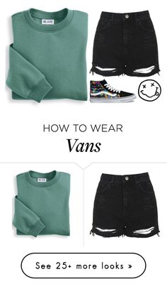 """Untitled #1920"" by chill-outfits on Polyvore featuring Blair, Topshop, Vans and plus size clothing"