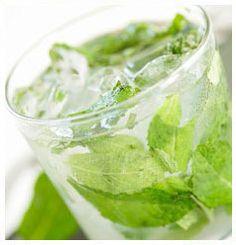 Hulett's Recipe for Minty Refresher.