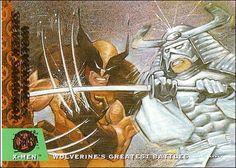 Wolverine vs Silver Samurai ('94)