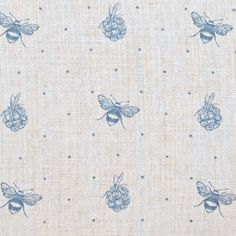 Blue Bee and Blackberry - Peony and Sage