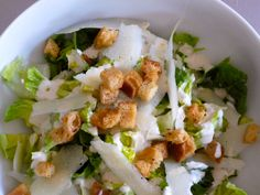 Caesar salad is really one of life's great pleasures. It's great topped with grilled chicken, sautéed shrimp, or a piece of roast salmon. A little pile of Caesar salad is a wonderfu. Homemade Caesar Salad Dressing, Salad Dressing Recipes, Salad Dressings, Veggie Bullet, Magic Bullet Recipes, Ceasar Salad, Salad Sauce, Nutribullet Recipes, Roasted Salmon