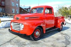 1950 Ford F1 Short Bed Pickup