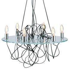Industrial chandelier