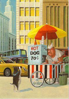 Humor en les il·lustracions de Gerhard Glück