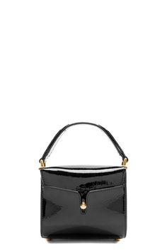 The Marc Jacobs Shadow Patent Leather Small Bauletto