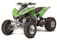 New Ray Toys 1:12 Scale ATV - KFX450R - Green 57503: Toys & Games