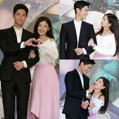 KBS upcoming Mon-Tue drama 'Moonlight Drawn by Clouds' press conference  Moonlight Drawn By Clouds premieres next Monday, August 22, on KBS . They're so sweet  @YOU_R_LOVE @PARKB0GUM . #Q: DO YOU SHIP THEM? . #박보검 #PARKBOGUM #BOGUM #Yoojung#moonlightdrawnbyclouds