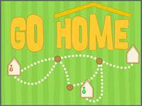 Dojdź do domu zgodnie z instrukcją (IV-VI).