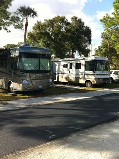 Fox Mobile Home RV Park At North Fort Myers Florida