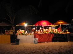 Morro De Sao Paulo- Fresh fruit drink stands, YUM!