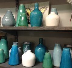 Place a single flower or a few in one of these pretty terra cota vases, available in an assortment of colors, shapes and sizes at the Garden Shop, San Diego Botanic Garden.
