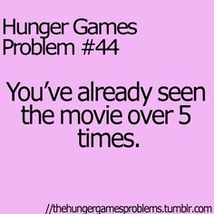 Hunger Games Problems - Page 5 of 10