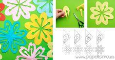 Flores-de-papel-kirigami-cut-out-paper-flower