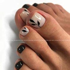 Pretty Toe Nails, Cute Toe Nails, Fancy Nails, Toe Nail Color, Toe Nail Art, Nail Colors, Shellac Nails, Manicure And Pedicure, Ambre Nails