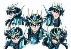Rosto de Ryuho de Dragão (Armadura Renascida)