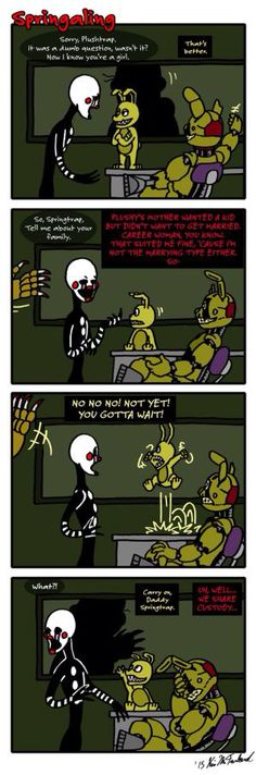 Springaling 46 - The Power of Plushtrap! by Negaduck9 on @DeviantArt