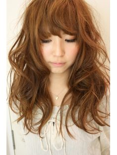 Messy bang look...and the only colour I would ever dye my hair