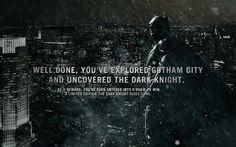 Experience Gotham City in 3D by Tommi Niskanen, via Behance