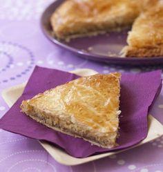Galette des rois à la crème de marrons et d'amandes - Ôdélices : Recettes de cuisine faciles et originales !
