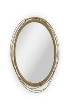 Kayan women are known for using neck rings with the intention of lengthening them. All the way from Myanmar, KAYAN Round Mirror is made of a unique aged brushed brass structure. This decorative mirror will surely spice up a boring wall.  #entrywaydesign #hallwaysdesign #contemporaryentryways #modernentryways #classicentryways #mid-centuryentrywyas #eclecticentryways