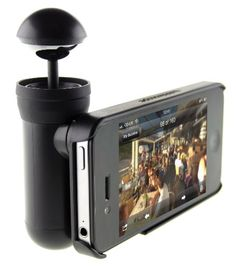 Bubblescope 360 Degree Optical Camera Lens with Case for iPhone 4/4S - Black Bubblescope http://www.amazon.com/dp/B008ER8AMG/ref=cm_sw_r_pi_dp_IvFZwb1DXYQKZ