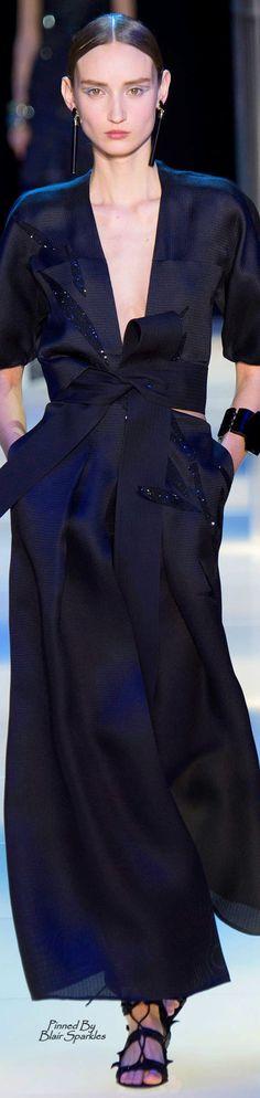 Spring 2015 Couture Armani Privé