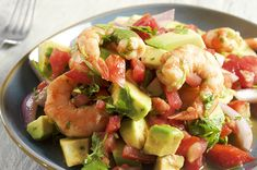 Ours Clam Broth Shrimp Ceviche is an easy and healthy preparation to enjoy f. Seafood Bake, Seafood Soup, Fresh Seafood, Seafood Recipes, Shrimp Ceviche, Easy Fish Recipes, Rice Recipes, Avocado, Healthy Weeknight Dinners