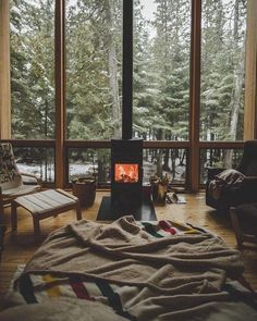 Best of Interior Design and Architecture Ideas Cozy Cabin, Cozy House, Winter Cabin, Cozy Winter, Cozy Cottage, Style At Home, Interior And Exterior, Interior Design, Forest House
