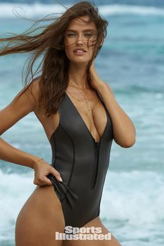 Rookie Bianca Balti for Sports Illustrated: Swimsuit Issue 2017. Photo: James Macari