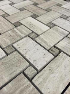"Discount Glass Tile Store - Marble Mosaic - Wooden White Basket Weave Mosaic (12"" x 12"" Mesh Mount Sheet) $9.49 square foot, $9.49 (http://www.discountglasstilestore.com/marble-mosaic-wooden-white-basket-weave-mosaic-12-x-12-mesh-mount-sheet-9-49-square-foot/)"