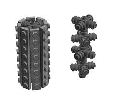 I was originally going to talk about building cylindrical columns. Then I realized that the only things that I've built with this technique are trees. Tree building is a very important topic in MOCing. There are probably as many different ways to build trees as there are types of trees. Lego Arboretum is a very …