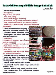 Kek coklat lembap | Airtangan Azlina Ina | Pinterest