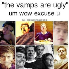 The reason that they were looking ugly wos cos they were impersonating u ! Jokin everyone is beautiful inside and out xx Brad Simpson, Will Simpson, Meet The Vamps, Artsy Background, Love Of My Life, My Love, New Hope Club, Silly Faces, My Future Boyfriend