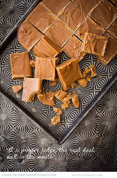 Recipe: It is proper fudge, the real deal, melt-in-the-mouth. Save it!