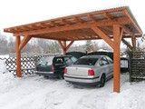 Zadaszenie przykrywające dwa samochody Pergola, Outdoor Structures, Arbors