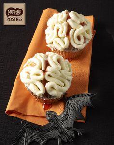 Muffins cerebro de Halloween