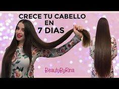 CABELLO LARGO EN UN MES / ¿COMO HACER CRECER EL CABELLO RÁPIDO? ♡   Danielalala - YouTube