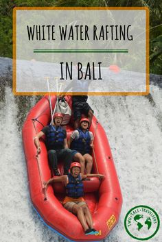 If you're planning a trip to Bali then you can't miss the chance to go white water rafting! What better way to spend a morning than bumping your way down a river and falling off edges, right!?