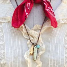 Travelers St. Christopher knife necklace ❤️