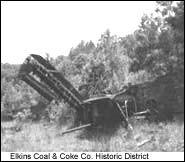 preston railroad west virginia | Elkins Coal and Coke Company Historic District