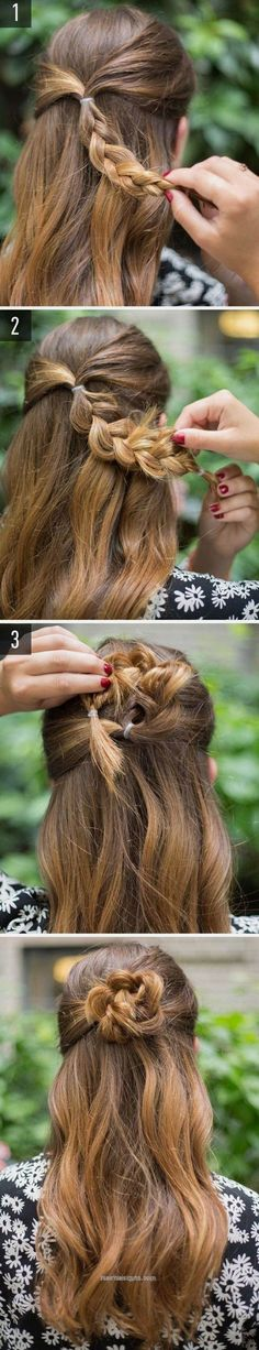 Adorable 40 Easy Hairstyles for Schools to Try in 2017. Quick, Easy, Cute and Simple Ste… www.hairdesigns.t… (Easy Hair Short)  The post  40 Easy Hairstyles for Schools to Try in 2017. ..