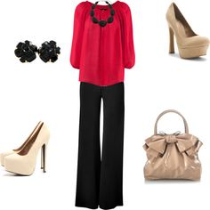 """""""Work Outfit"""" by gabrielle-rivero on Polyvore"""